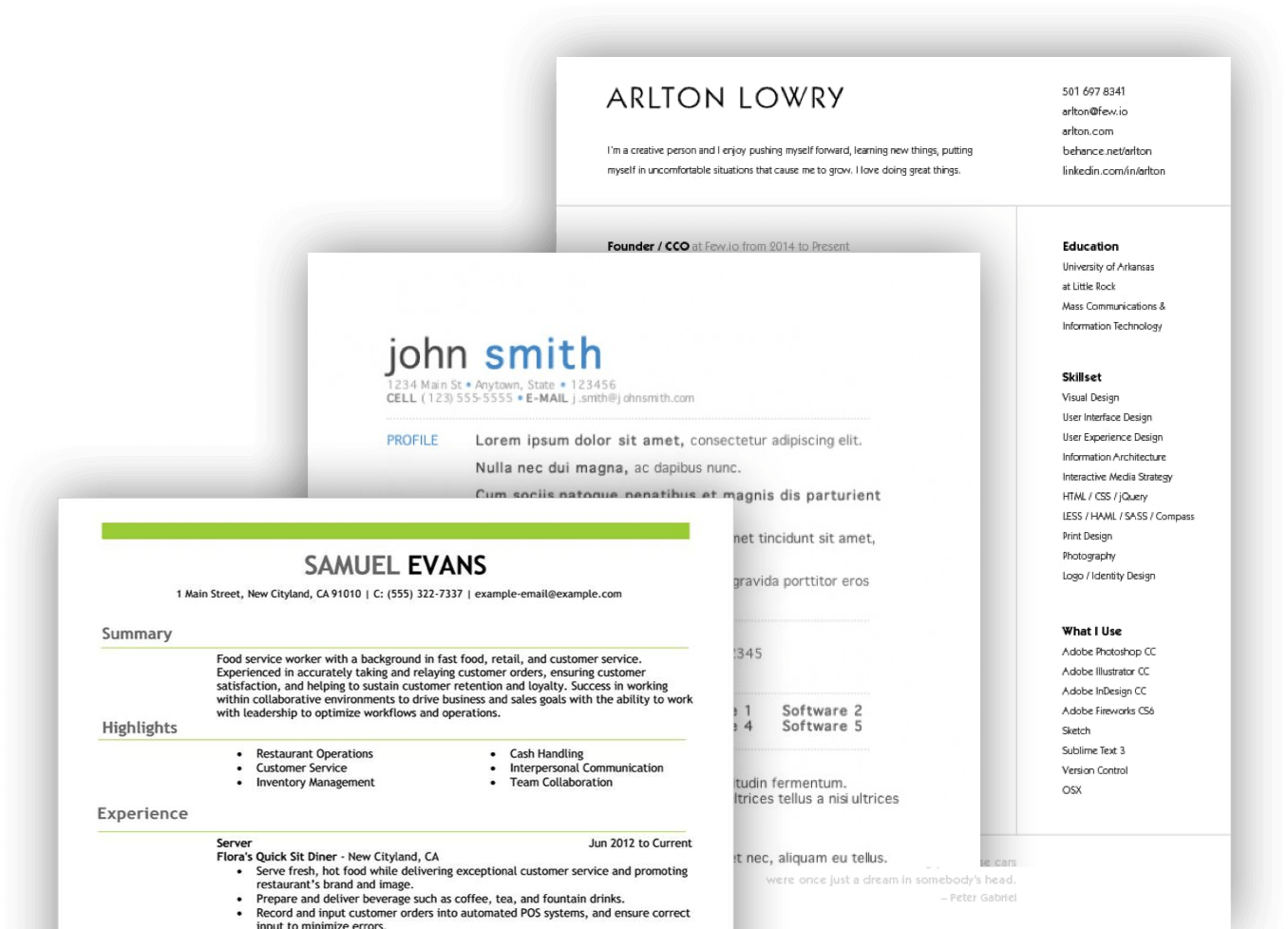 Resume Builder  Create A Resume Online