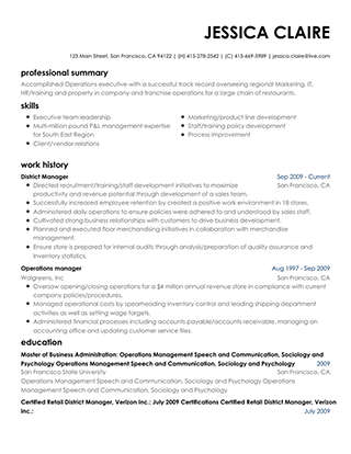Resumebuilder Create A Professional Resume Today
